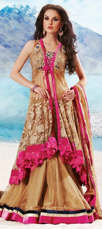 116382: We've added a new style in our #lehengacholi collection: LEHENGA-JACKET.
