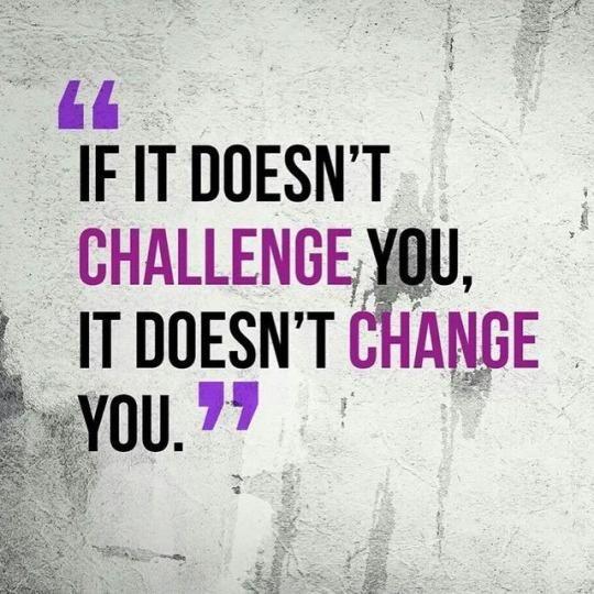 """""""Se non ti fa impegnare, non ti fa crescere."""" #quote #citazione #motivational #inspirational #creative"""