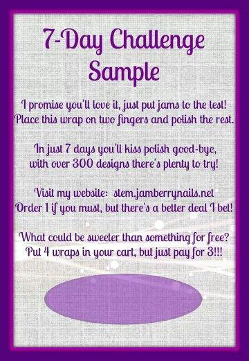 Jamberry sample card www.amydavis7779.jamberrynails.net
