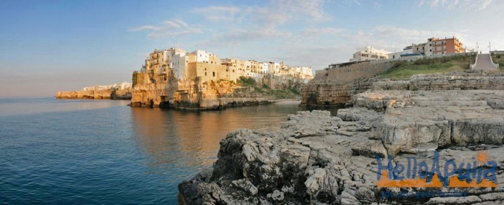 Polignano a Mare offers breathtaking views. Thousand years history over these rocks...a MUST see place!