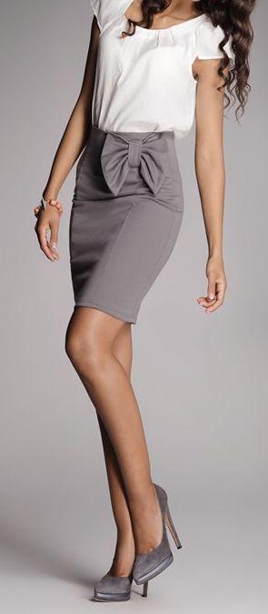 Bow skirt- workwear: