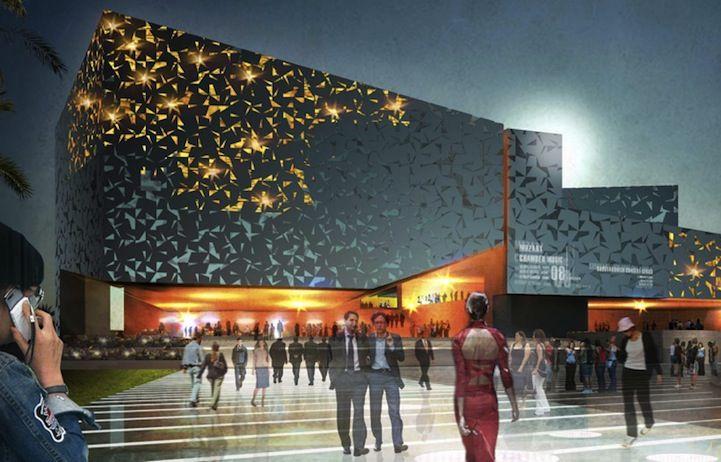 Palacio de Congresos in Lanzarotte by Henning Larsen