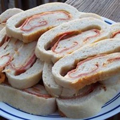 Jet Swirl Pizza Appetizers