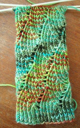 Nereid Fingerless Gloves free knitting pattern by Denise Sutherland