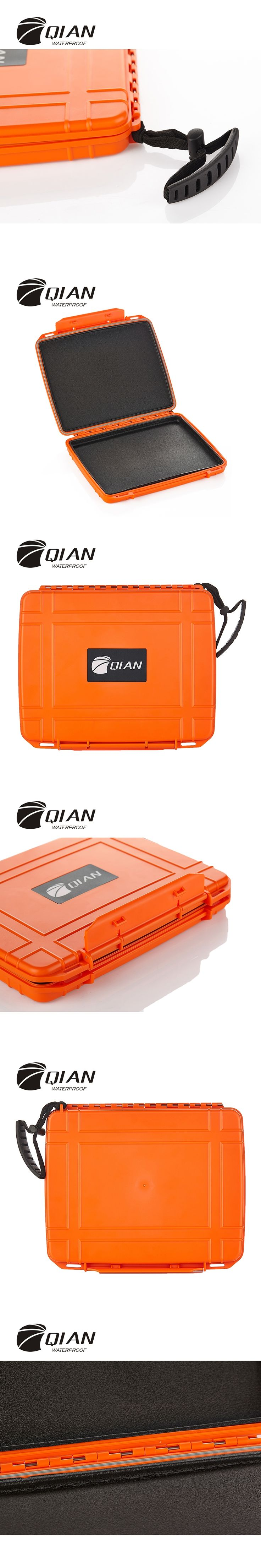 QIAN SAFETY Professional Waterproof Safety Equipment Box Impact Plastic Sealed Tool Anti-collision Swimming Diving Case