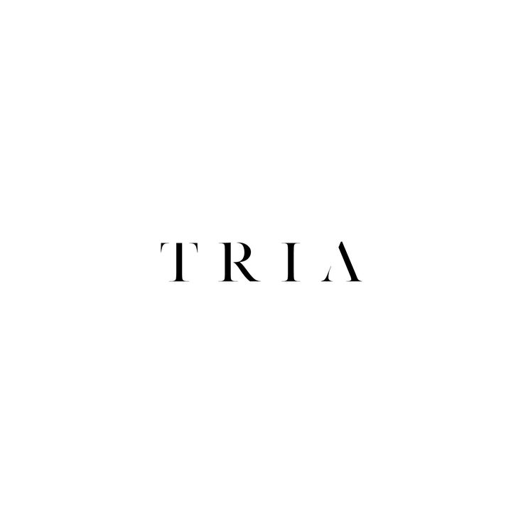 Minimal brand for TRIA - a new property development by Living Design Projects. Featuring branding, brochures, advertising and signage, this one was a fun project! #banditdesignoriginals