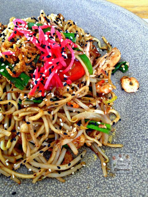 Salty, sweet with a hint of ginger and sesame this Yaki Soba from Wagamama is sure to please your cravings for Asian flavors!