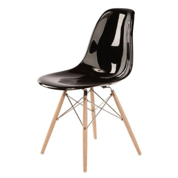 the charles eames style dsw dining chair in fiberglass is a high quality in the style of the original design this dsw dining height sid