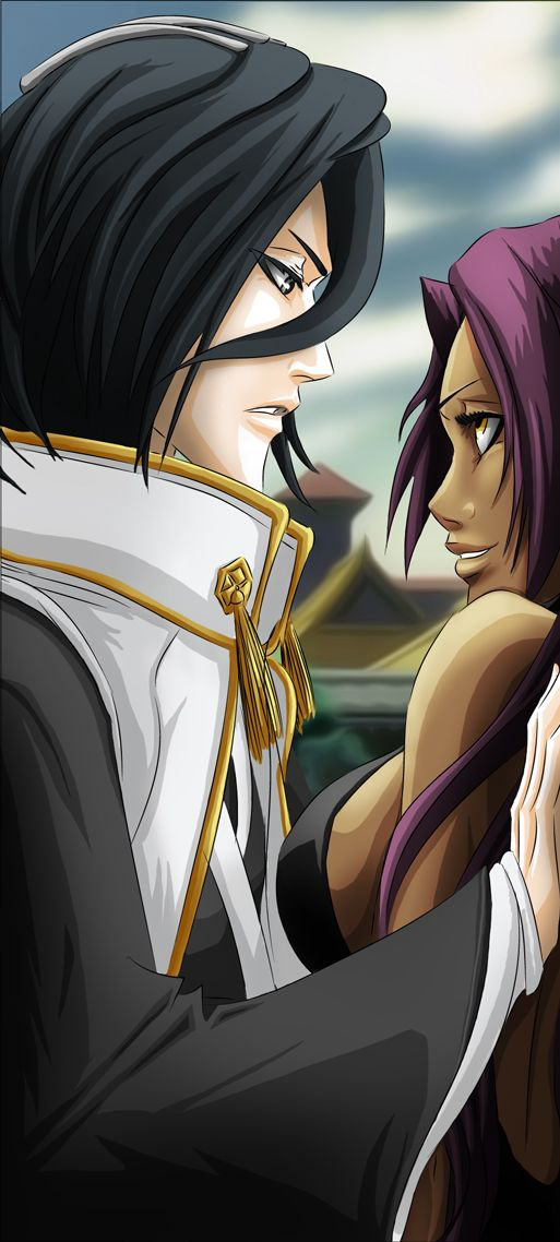 byakuya and yoruichi relationship definition