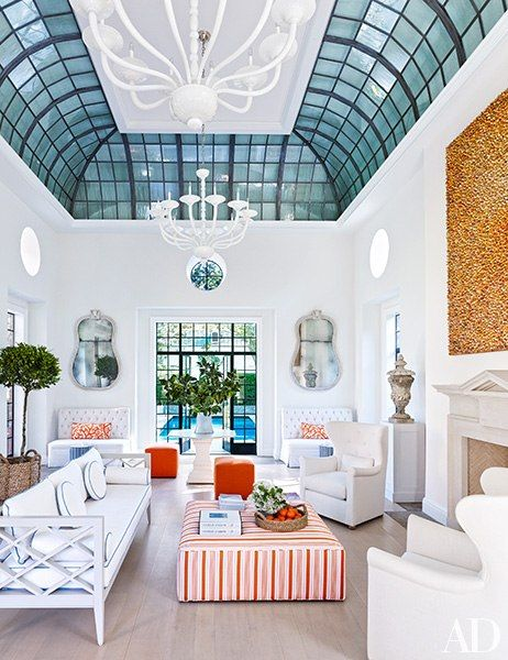 Bruce Budd Redecorates Houston Mansion Home Interior
