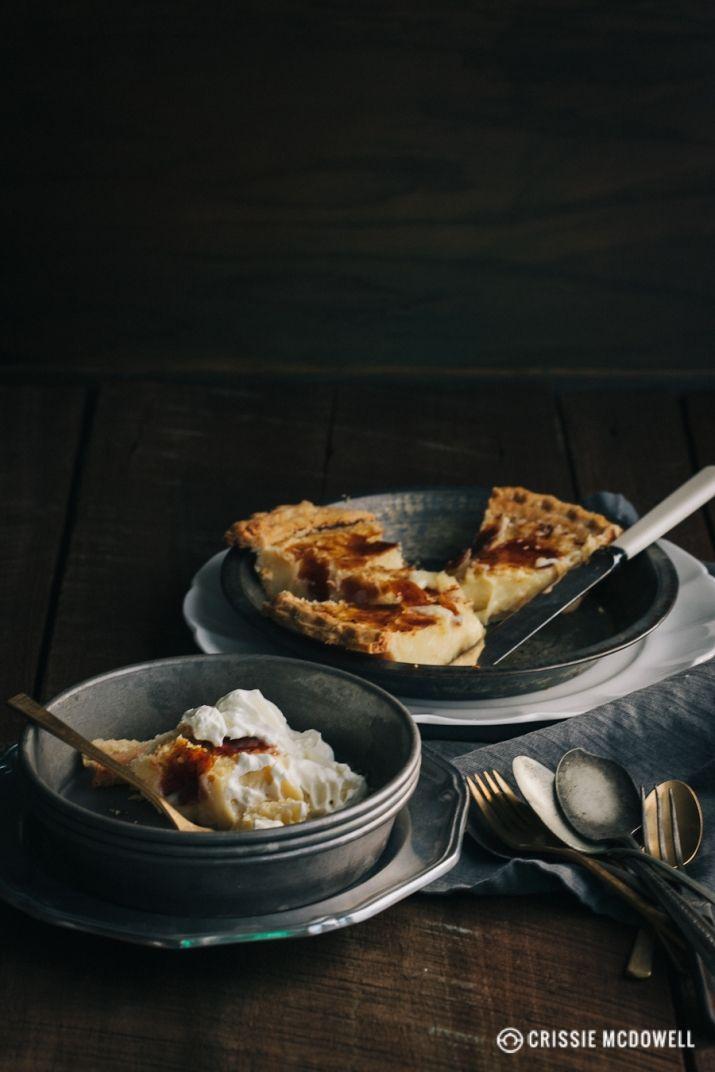 Crème Brûlée Pie | Pies, tartes, galettes | Pinterest