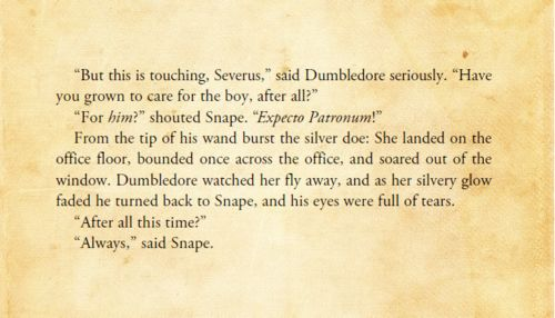 Harry Potter and the Deathly Hallows. I so cried during this part of the movie :)
