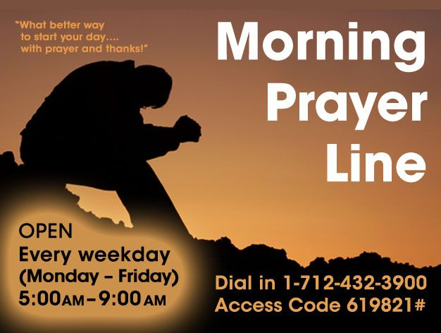 Prayer hotline shows