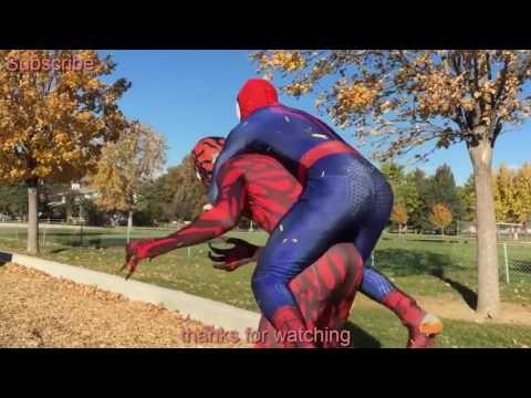 SPIERMAN & VENOM VS CARNAGE IN REAL LIFE SUPERHERO MOVIE   