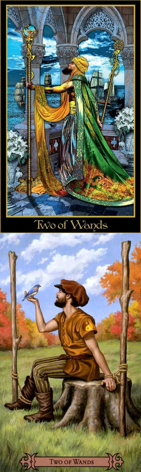 Two of Wands: planning and disorganization (reverse). Illuminati Tarot deck and Spellcasters Tarot deck: love tarot cards, tarot card reading online free uk vs tarot cards and book sets. Best 2017 playing card tattoo ideas and playing card tattoo. #wicca #ios #witchcraft