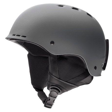 Smith Optics Holt Ski Helmet in Matte Charcoal