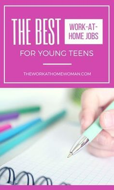 With changes in parenting attitudes, intense homework regimens at school, and restrictive laws and rules about hiring workers under the age of 16 -- it doesn't leave young teens with a lot of options for earning extra money. However, it's not all bad news. With advances in technology, there are a lot of unique ways for young teens to earn extra money. If you're a young teen looking for a job you can do from home, here are some of the best work-at-home jobs for young teens.