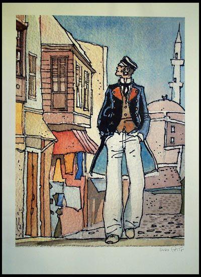 hugo Pratt''s corto Maltese