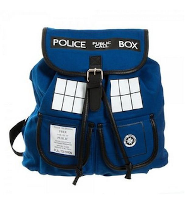 Doctor Who Blue Tardis Knapsack | 43 Super Cool Backpacks For Grownups