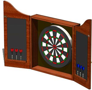 Cabinet Plans Cabinets And Darts On Pinterest