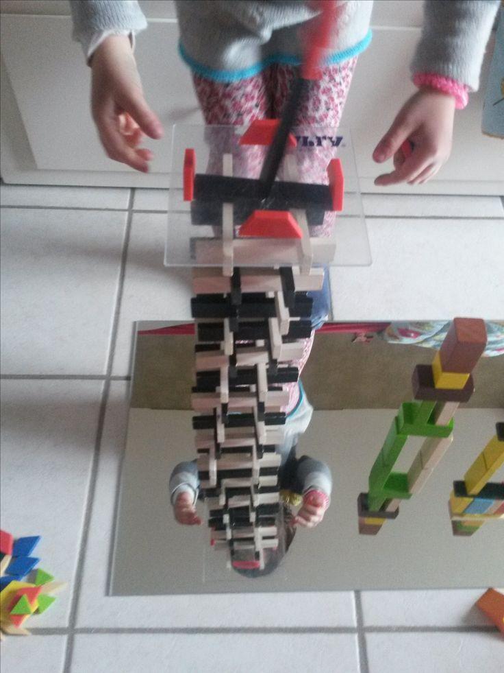 Un tour qui se reflète dans le miroir : effets de symétrie et de volume