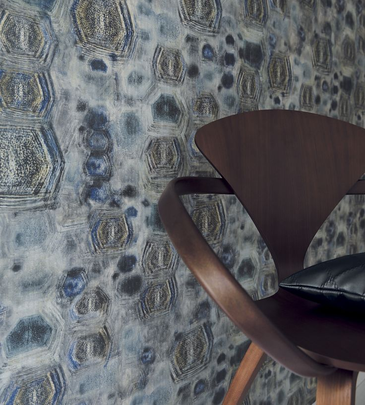 70s Interior Design Revival | Parure Wallpaper by Casamance | Jane Clayton