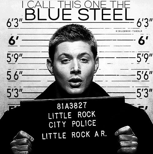 The Legendary-Blue-Steel.   Community Post: The Many Pouts Of Jensen Ackles