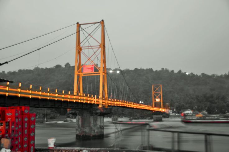 yellow bridge (Jembatan Kuning) by arthamade