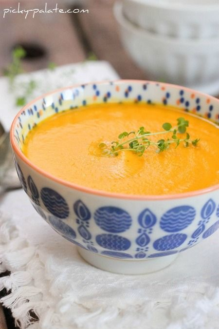 Considering there is not actual cream in this Simple Creamy Carrot Soup, it's totally Ass Friendly!