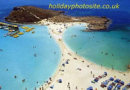 Cyprus, Nissi beach - near Ayia Napa