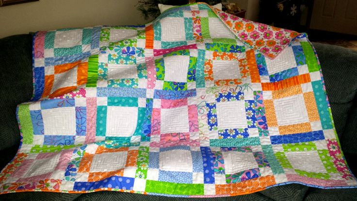 QUILTS for sale homemade BED BLANKET, Bed cover, Lap quilt, girls, tweens, teens, graduates gift - pinned by pin4etsy.com