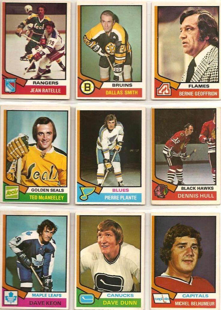 145-153 Jean Ratelle, Dallas Smith, Bernie Geoffrion, Ted McAneeley, Pierre…