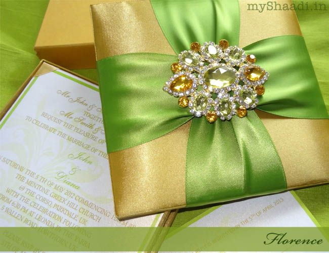 "Colourful World- ""Love & Live"": Luxury invitations for royal ..."