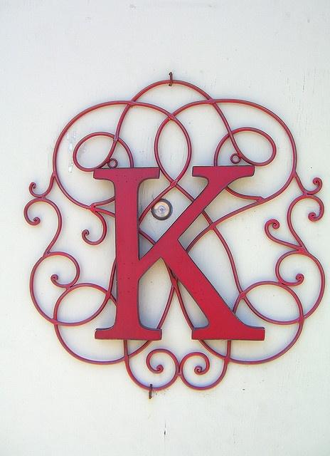 monogram | K