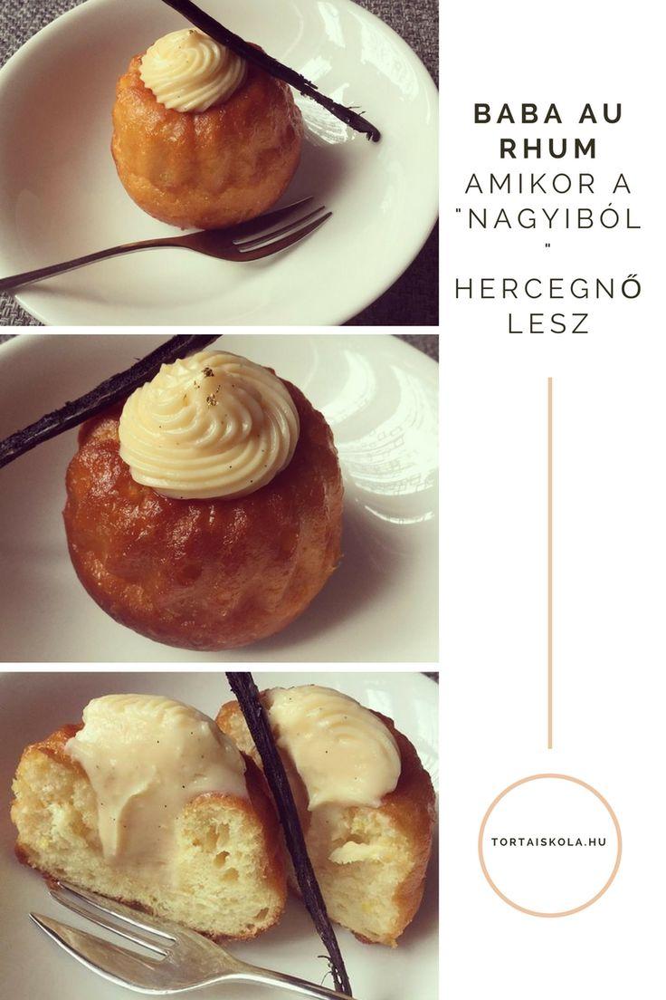 A francia desszertek szerelmese lettem:-) Hétvégén St Honoré készült, előtte Financier… most a rumbaba volt soron, mint egyszerű finomság. Egyszerűen google, és recept keresés. Rengete…