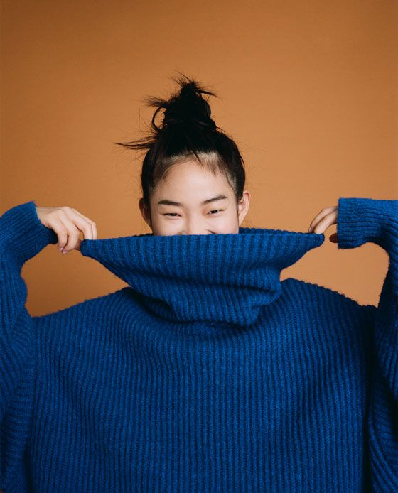 Super oversized and warm knitwear