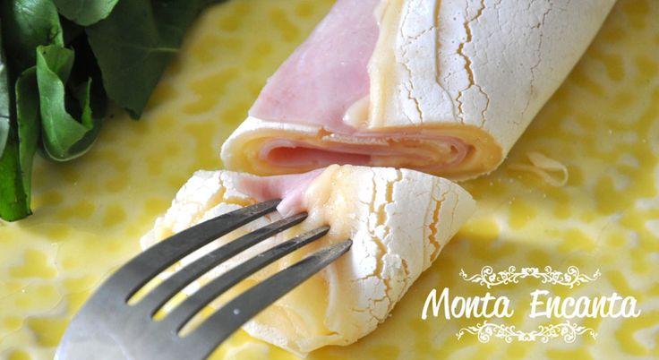 Crepioca - crepe de tapioca, saudável e leve com inúmeras vantagens em relação ao crepe tradicional, pois não possui glúten!