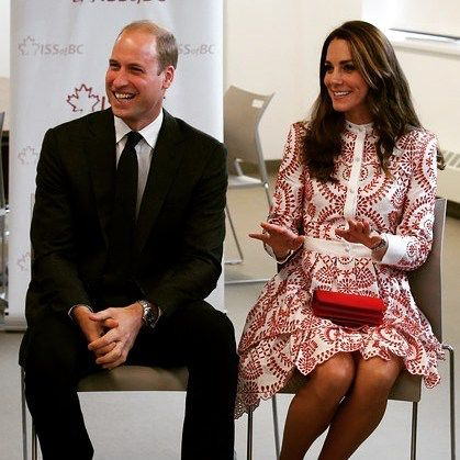 Catherine, Duchess of Cambridge and Prince William, Duke of Cambridge meet members of TechStart and MY Circle youth in the Vancity room during their visit to the Immigrant Services Society of British Columbia New Welcome Centre during their Royal Tour of Canada on September 25, 2016 in Vancouver, Canada.