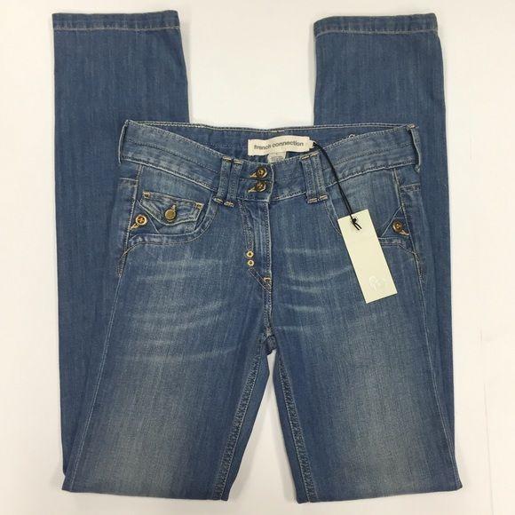 FRENCH CONNECTION Jeans French Connection jeans.  Size 0/2.  New with tags. French Connection Jeans