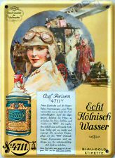Mini-Blechschild 4711 - Echt Kölnisch Wasser, 8 x 11 cm