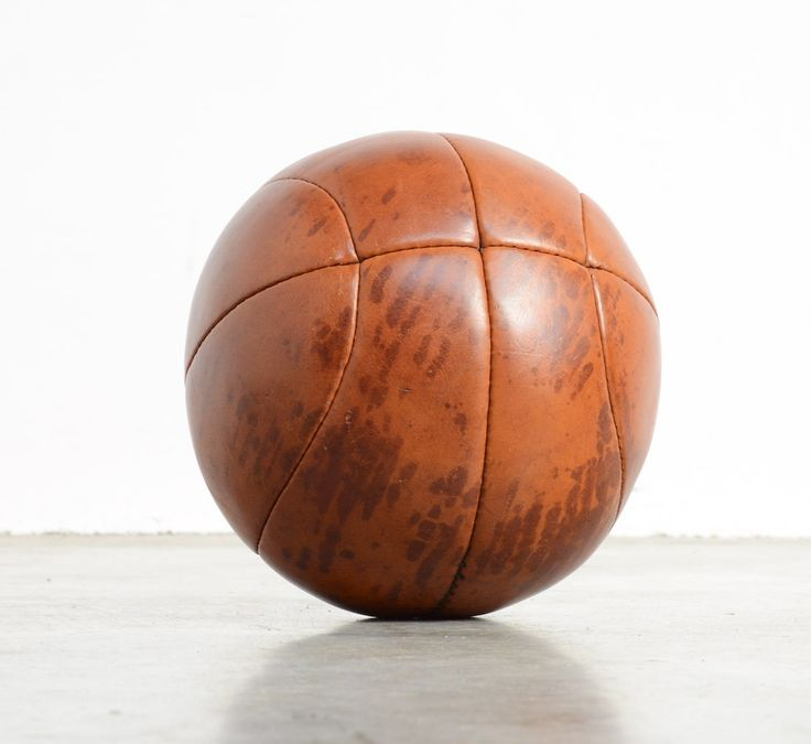 Old Fashioned Leather Cricket Ball