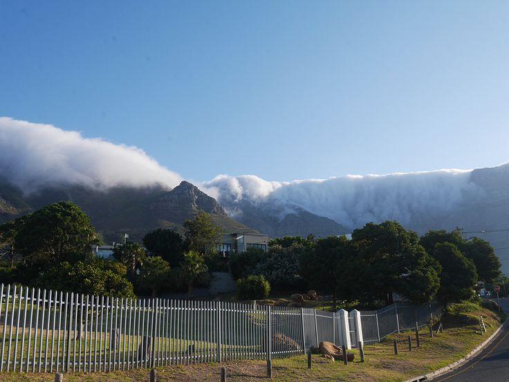 cascade sur Table Mountain