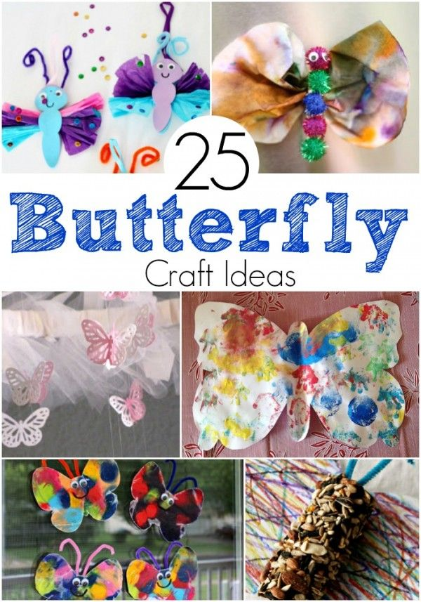 Looking For Spring Craft Ideas My Kids Adore Making Colorful Critters Butterfly Crafts Are