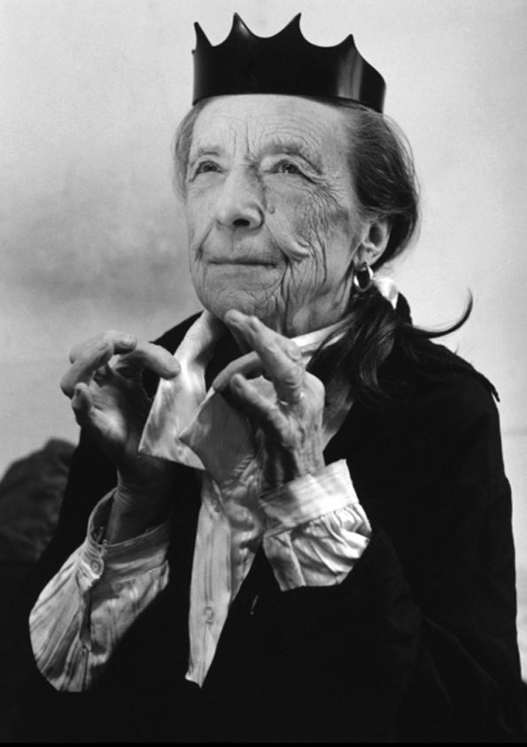 Louise Bourgeois by Bruce Weber.