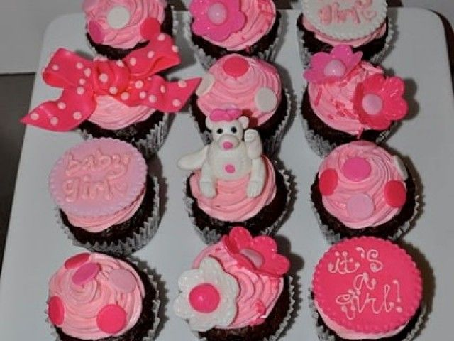 33 best images about baby shower cupcakes ideas on. Black Bedroom Furniture Sets. Home Design Ideas