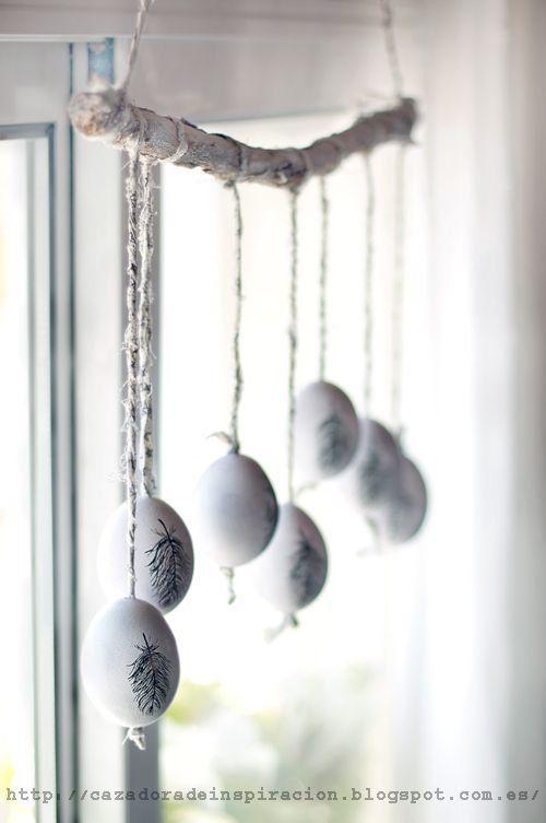 fekete fehér húsvéti tojások15