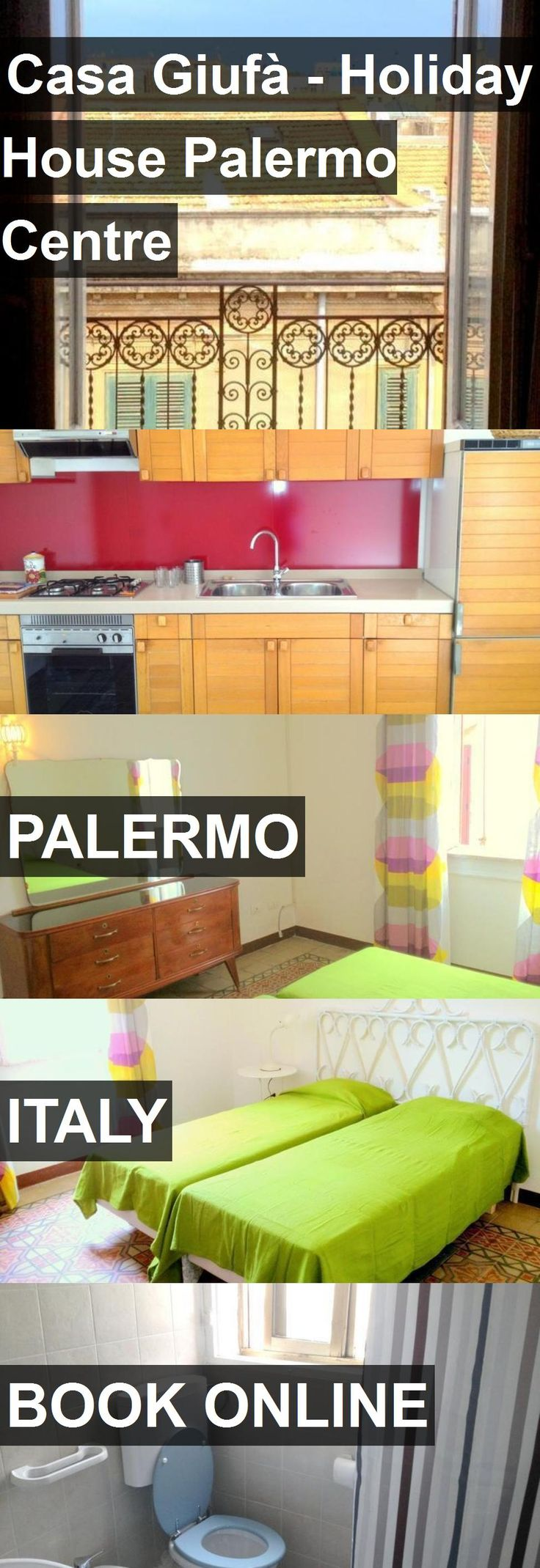 Hotel Casa Giufà - Holiday House Palermo Centre in Palermo, Italy. For more information, photos, reviews and best prices please follow the link. #Italy #Palermo #travel #vacation #hotel