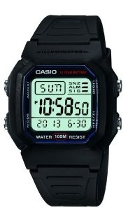 #7: Casio Men's W800H-1AV Classic Digital Sport Watch