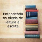 Entendendo os niveis de leitura e escrita