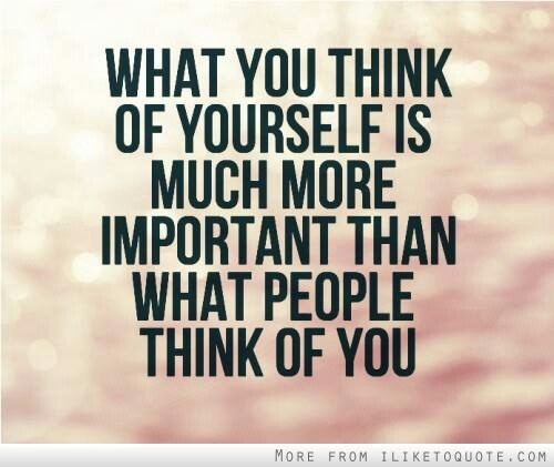 What I Think About You Quotes: What People Think Of You Quotes. QuotesGram